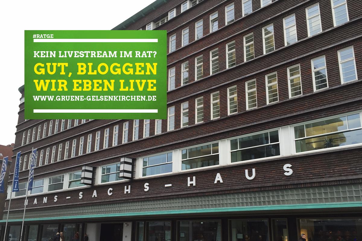 17. Sitzung des Rates der Stadt Gelsenkirchen – LIVE Blog