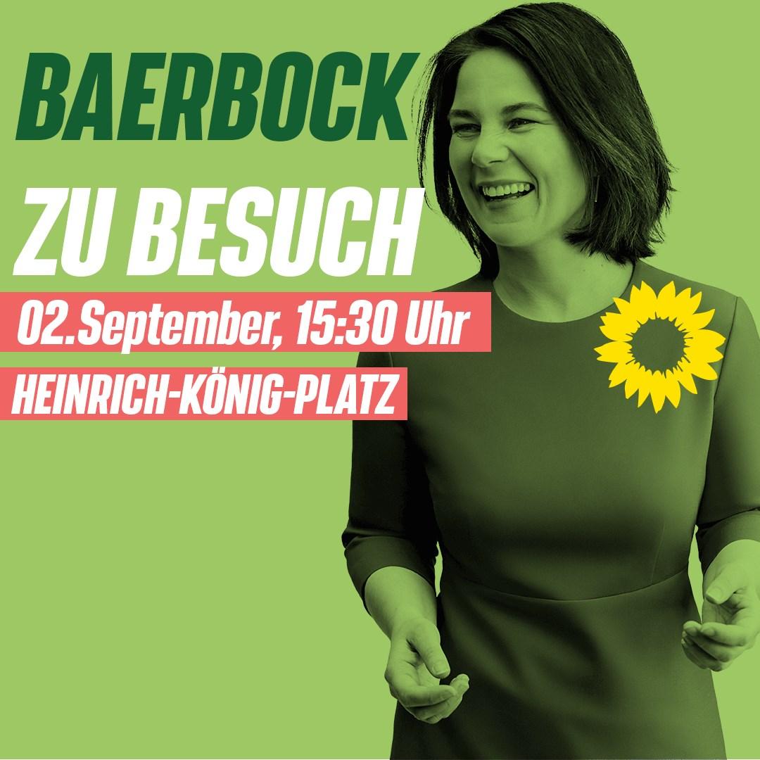 Annalena Baerbock in Gelsenkirchen!